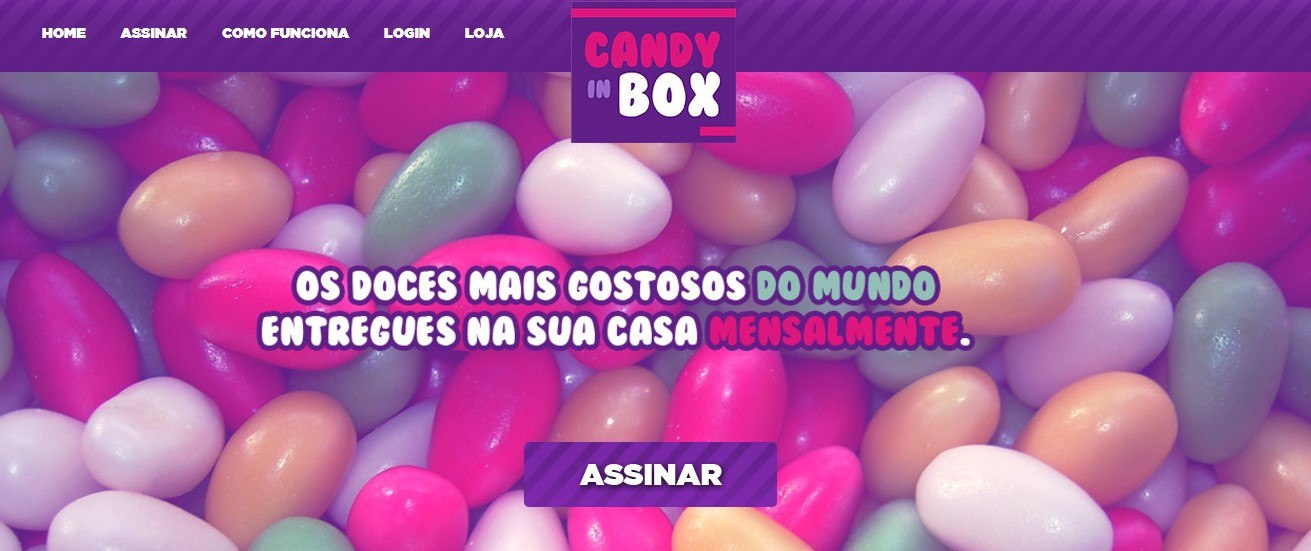 Clubes de assinatura Candy in Box