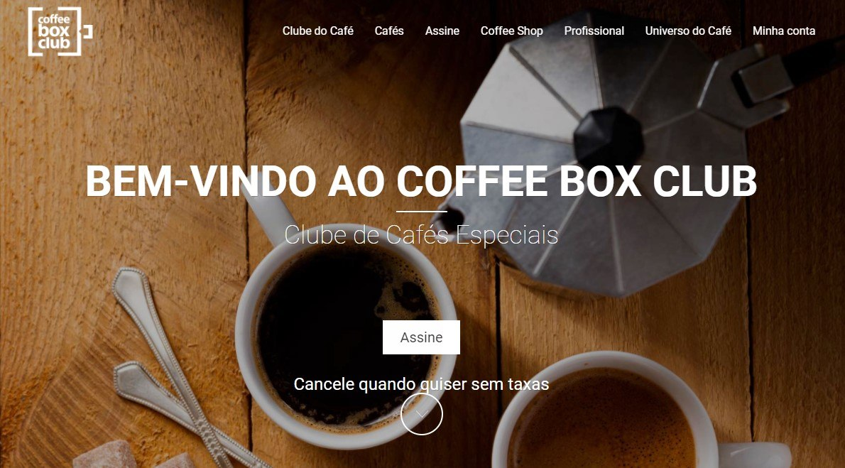 Clubes de assinatura Coffee Box Club