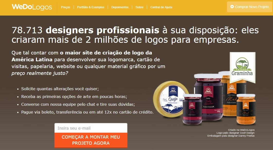 Contratar freelancers We do Logos