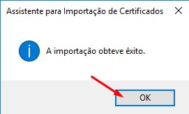 importar o certificado digital