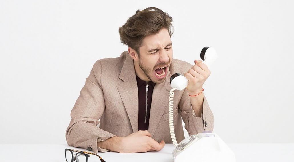 responder cliente insatisfeito