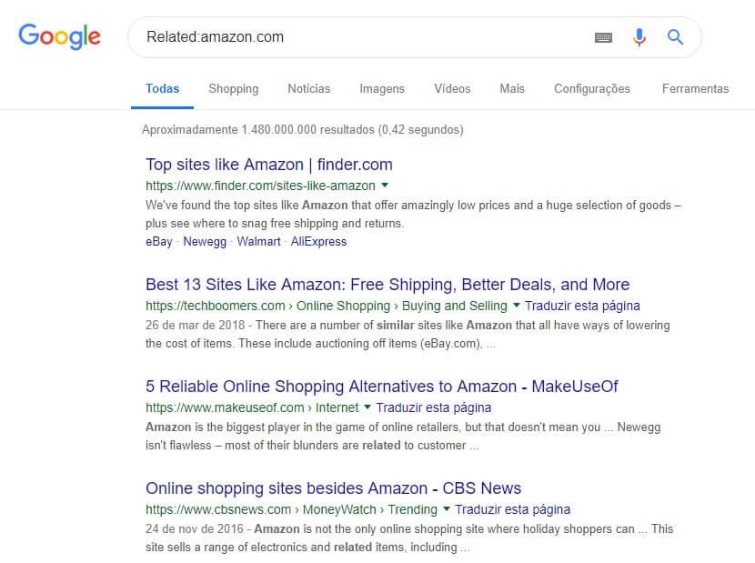 como buscar no google -9