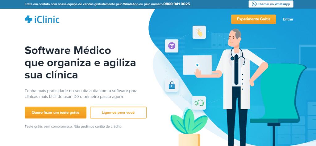 software médico iclinic
