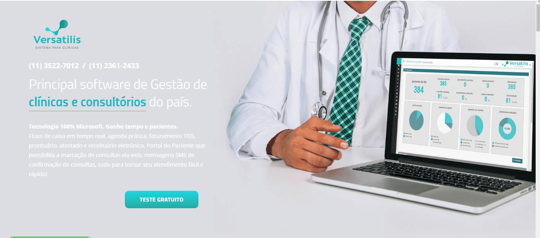 software médico versatilis