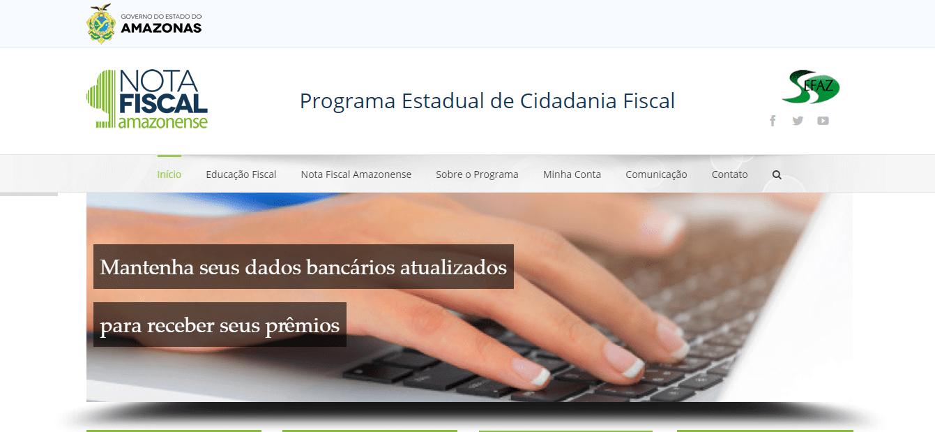 CPF na nota - nota fiscal amazonense