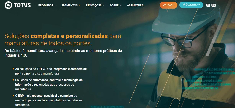 ERP Industrial - TOTVS