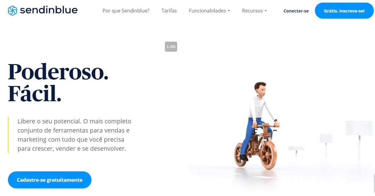 sendinblue - ferramenta automação de marketing