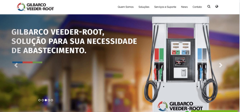 sistema para posto de gasolina - gilbacro veeder-root