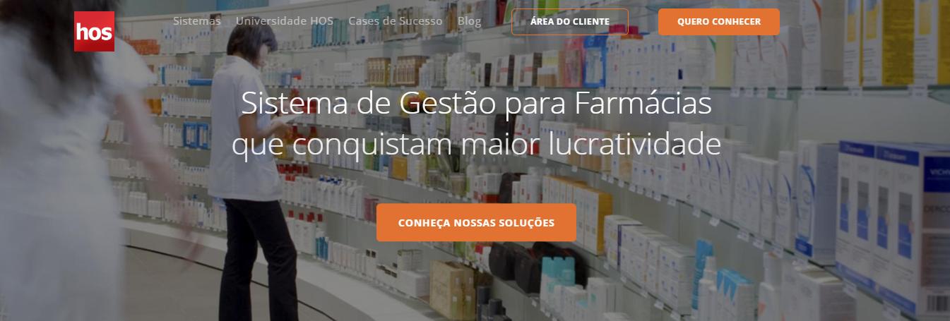 software para farmácia - hos