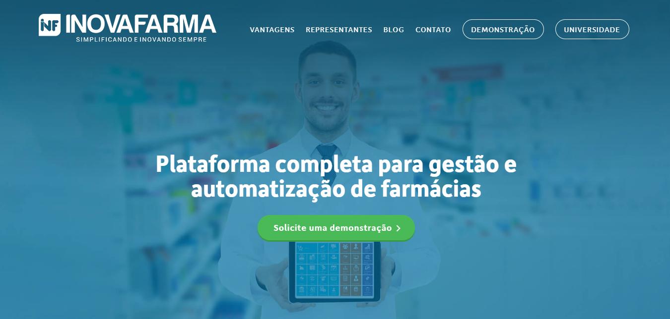 software para farmácia - inovafarma