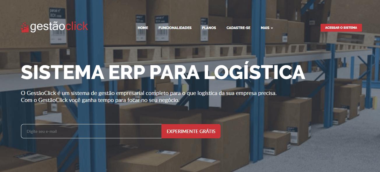 ERP para logística - gestão click