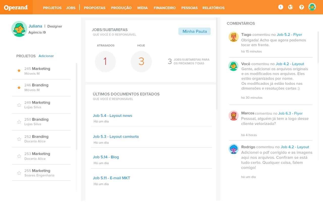 ferramenta gerenciamento projetos - operand