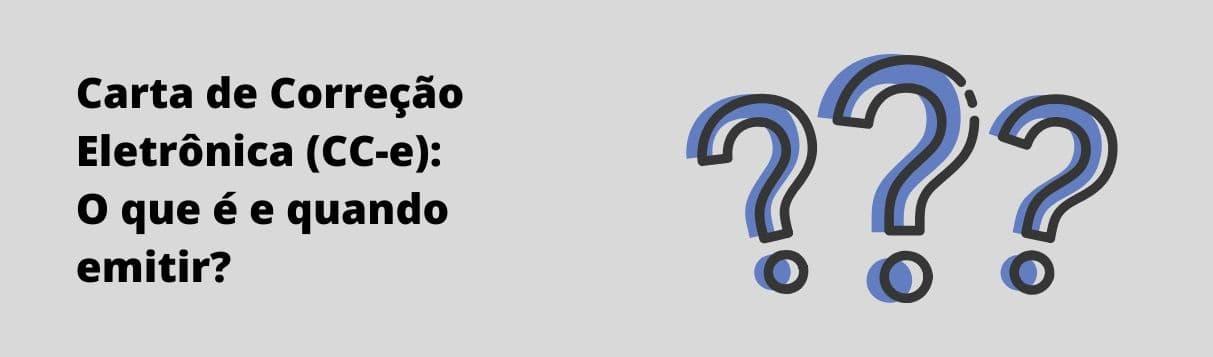 carta de correção eletrônica - cc-e
