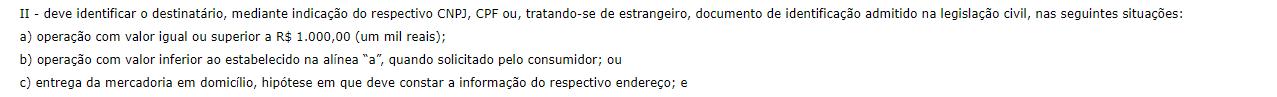 nfc-e Pernambuco