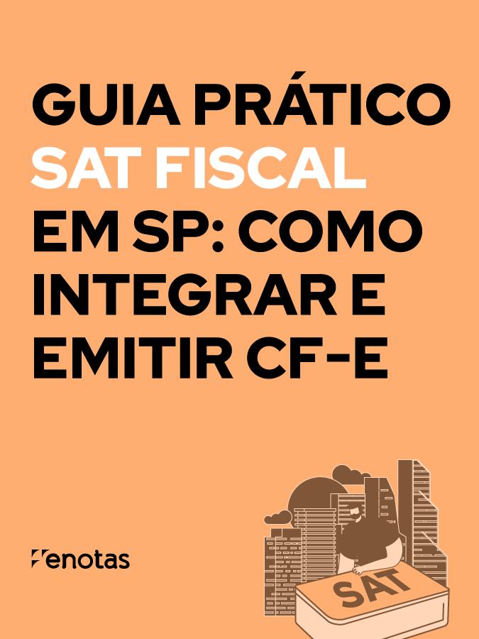 Guia Prático SAT Fiscal em SP