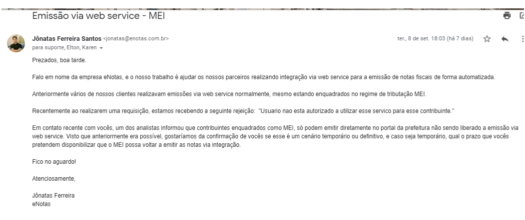 comunicado Piracicaba