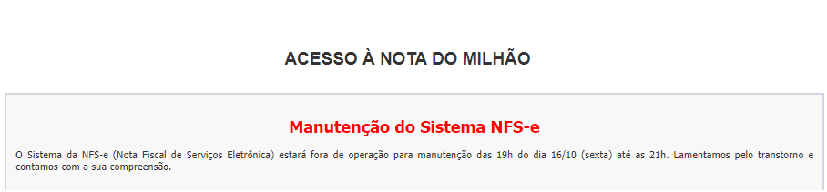 NFS-e SP