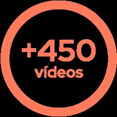 icone matetatica 450 videos em um ano