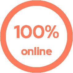 curso 100% online